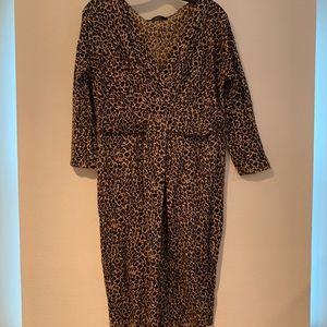 Weekend Max Mara Leopard Print Dress